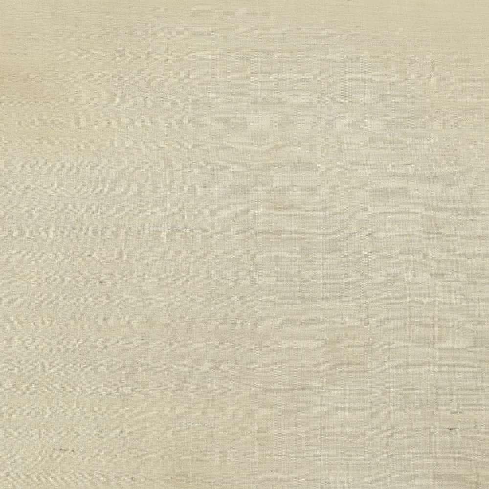 HANDSPUN TUSSAR SILK BLEND FABRIC   NATURAL COLOUR