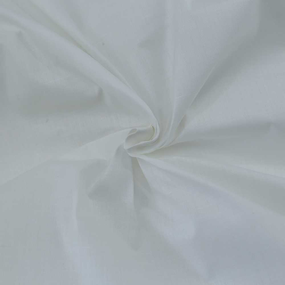"""WHITE KHADI COTTON FABRIC - BLEACHED, DYEABLE & 36"""" WIDTH"""