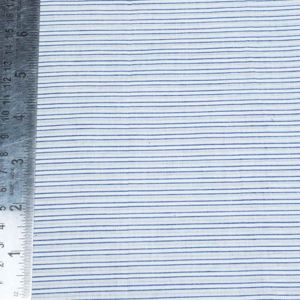 PURE COTTON YARN DYED FABRIC   DESIGN-STRIPES