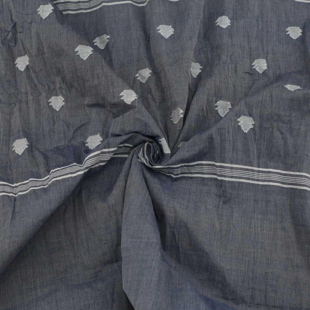 HANDMADE PURE HANDSPUN JAMDANI  COTTON SCARVES
