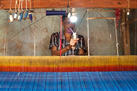 Hand woven fabrics & pre weaving techniques