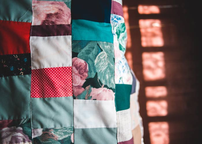 DIY Patchwork Upcycle projects to reduce fabric waste