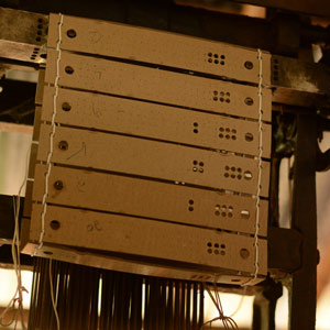 jacquard punched cards