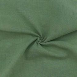 PLAIN GREEN KHADI FABRIC - HANDSPUN & HANDWOVEN