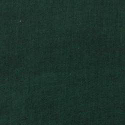 PLAIN DARK GREEN PURE COTTON HANDWOVEN FABRIC