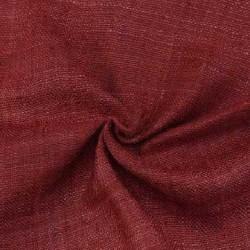 PLAIN RED PURE MATKA HANDWOVEN FABRIC