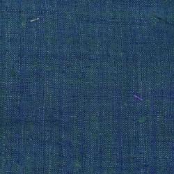 PLAIN BLUE PURE MATKA HANDWOVEN FABRIC
