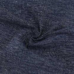 CHAMBRAY GREY BLACK KHADI COTTON HANDWOVEN FABRIC
