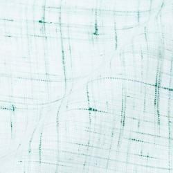 SLUB LIGHT GREEN BLUE PURE COTTON HANDWOVEN FABRIC