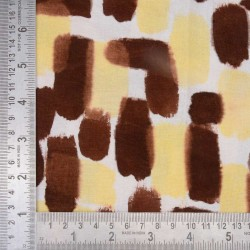 HAND PAINTED FABRIC| NATURAL DYE