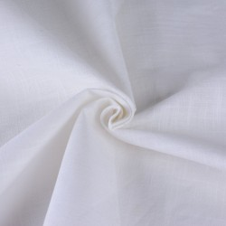 DYEABLE PURE COTTON FABRIC | BLEACHED WHITE