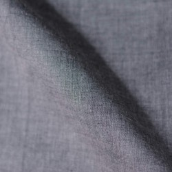 CHAMBRAY GREY PURE COTTON HANDWOVEN FABRIC
