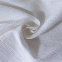 WHITE KHADI FABRIC | BLEACHED WHITE & DYEABLE