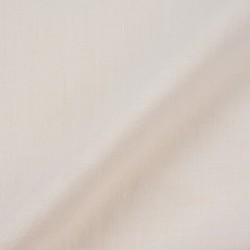 WHITE KHADI HANDSPUN & HANDWOVEN FABRIC - BLEACHED & DYEABLE