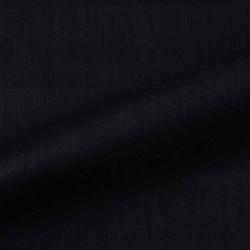 PLAIN BLACK PURE COTTON HANDWOVEN FABRIC