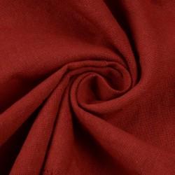 PLAIN RED KHADI FABRIC - HANDSPUN & HANDWOVEN