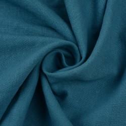 PLAIN BLUE KHADI FABRIC - HANDSPUN & HANDWOVEN