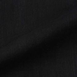 CHAMBRAY BLACK KHADI COTTON HANDWOVEN FABRIC