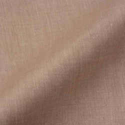 CHAMBRAY BROWN PURE COTTON HANDWOVEN FABRIC