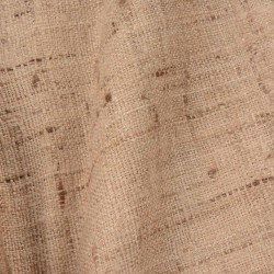 PURE HAND SPUN & HAND WOVEN KETYA  SILK BLEND FABRIC | IN NATURAL COLOUR | THE INDIAN LUXURY SILK