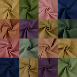 Assorted Natural Dyed Fabric Swatches