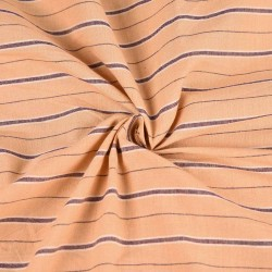 PURE COTTON YARN DYED FABRIC   DESIGN - STRIPES