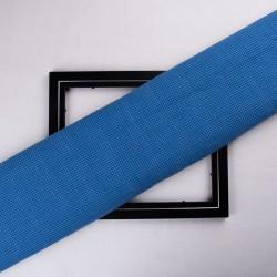 CHECK COBALT BLUE PURE COTTON HANDWOVEN FABRIC