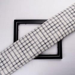 Shibori Tie Dye Check Fabric