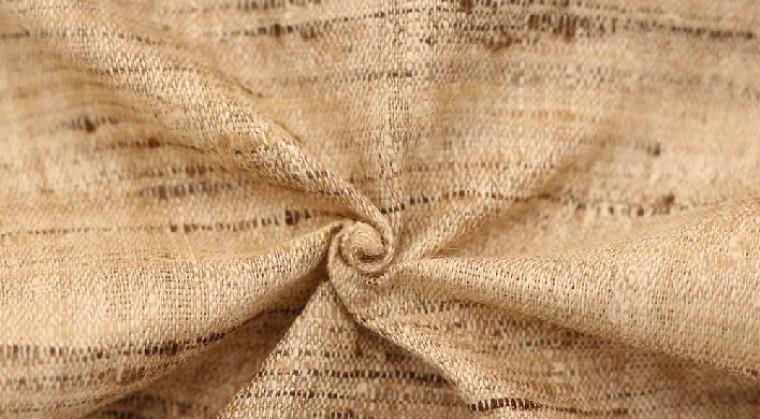 Peace silk fabric